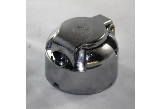 7-polige Steckdose Metall