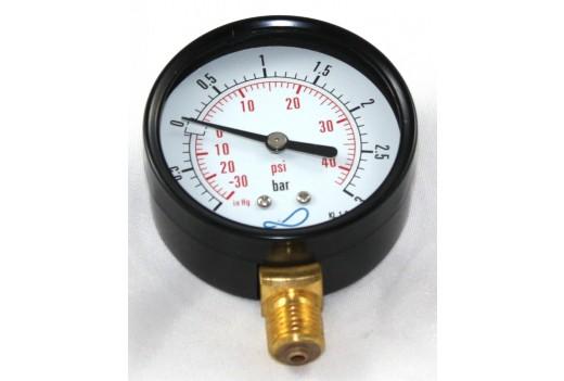 Vakuum-Manometer 63 mm Durchm.