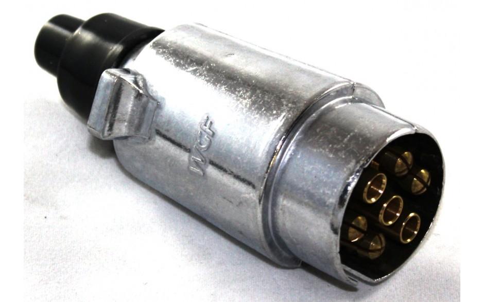 7-poliger Stecker, Metall 12 V