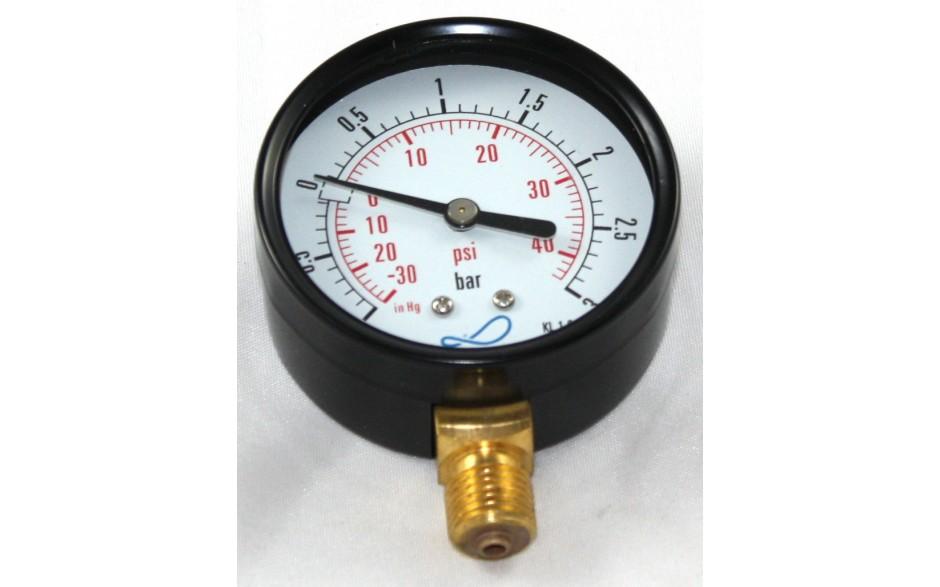 Vakuum-Manometer 80 mm Durchm.